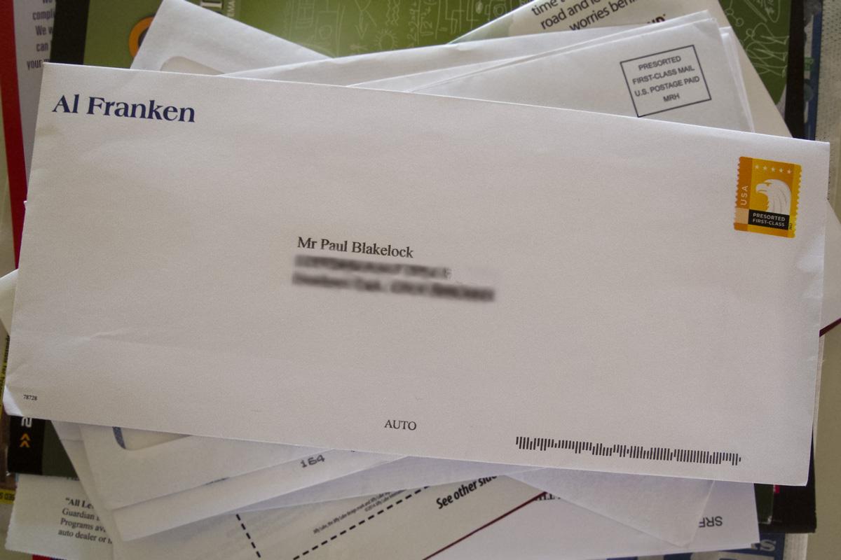 A letter from Al Franken